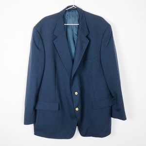 Brooks Brothers 1990 48R Navy Sports Coat Casual